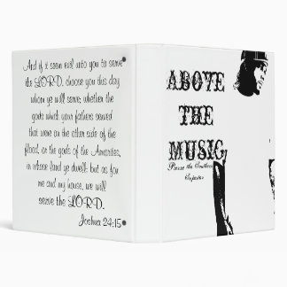 Serve the Lord 3 Ring Binders