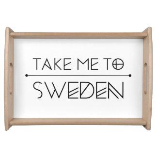 Server Take me to Sweden Serving Tray