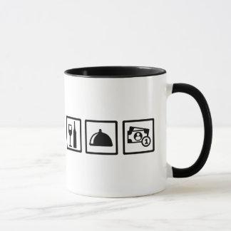 Server waiter mug