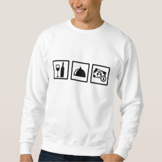 Server waiter sweatshirt