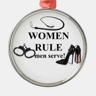 SERVICE D HOMMES DE RÈGLE DE FEMMES DÉCORATIONS DE NOËL