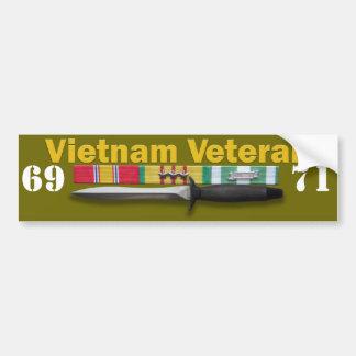 Service de vétéran du Vietnam - adhésif pour pare- Autocollant De Voiture