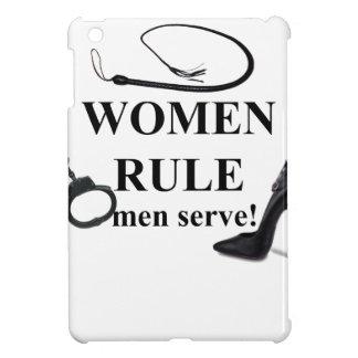 SERVICE D'HOMMES DE RÈGLE DE FEMMES COQUE POUR iPad MINI