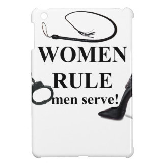 SERVICE D'HOMMES DE RÈGLE DE FEMMES ÉTUI iPad MINI