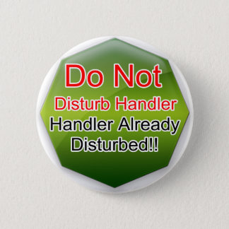 Service Dog Helpers Green Jelly 2 Inch Round Button