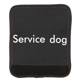 Service dog leash wrap luggage handle wrap