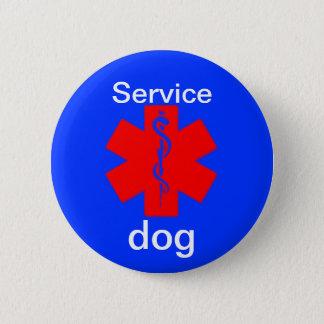 service dog medical alert symbol button