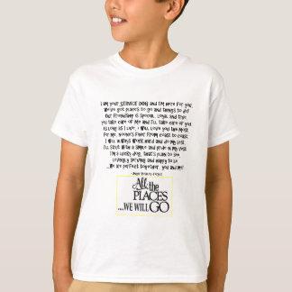 Service dog poem FNL BACK yellow T-Shirt