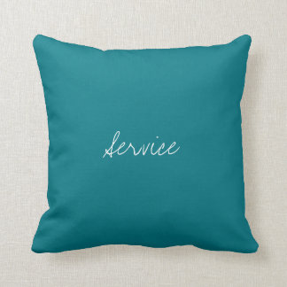 Service Virtue Decorated Cushion Pillows