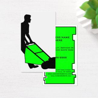 services de pelouse d'oddRex Cartes De Visite
