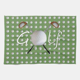 Serviette de cuisine de golf serviette éponge