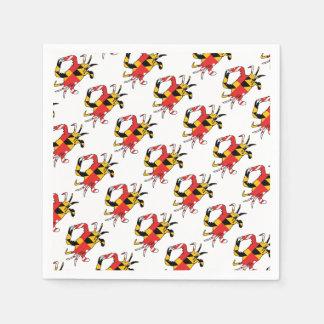 Serviette Jetable Crabe du Maryland