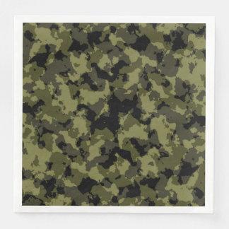 Serviette Jetable Les militaires de camouflage dénomment