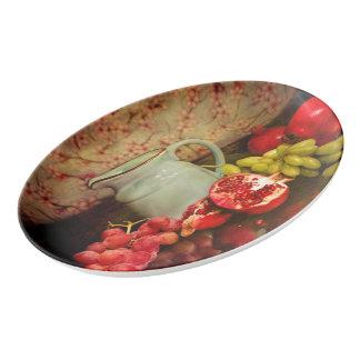 Serving Platter With Fruit