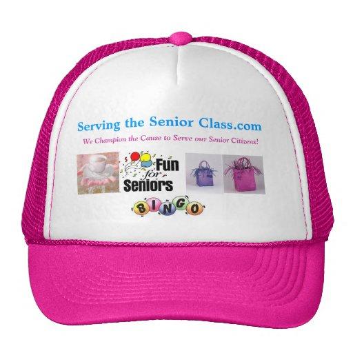 Serving the Senior Class.com Hat