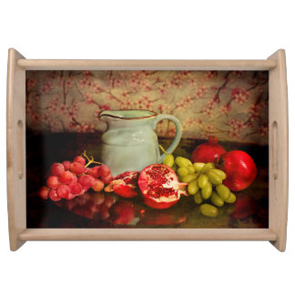 Serving Tray With Fruit