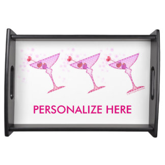 SERVING TRAYS - PINK MARTINI