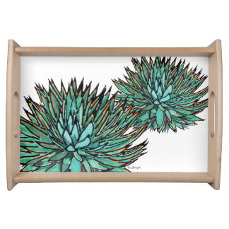 Serving Trays - Spiky Blue Agave
