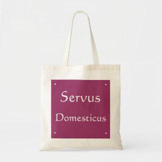 Servus Domesticus Tote Bag
