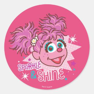 Sesame Street | Abby Cadabby - Sparkle & Shine Classic Round Sticker