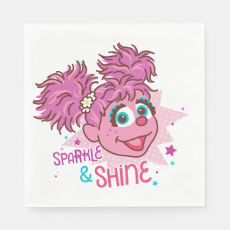 Sesame Street | Abby Cadabby - Sparkle & Shine Disposable Napkin