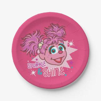 Sesame Street | Abby Cadabby - Sparkle & Shine Paper Plate