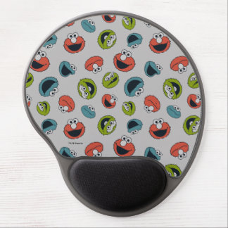 Sesame Street | All Star Team Pattern Gel Mouse Pad