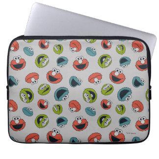 Sesame Street   All Star Team Pattern Laptop Sleeve