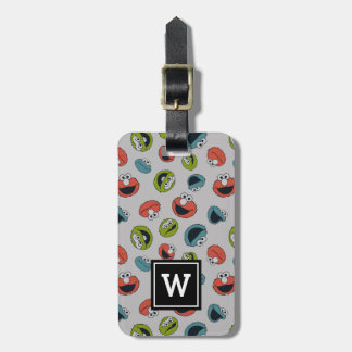 Sesame Street | All Star Team Pattern Luggage Tag