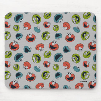 Sesame Street | All Star Team Pattern Mouse Pad