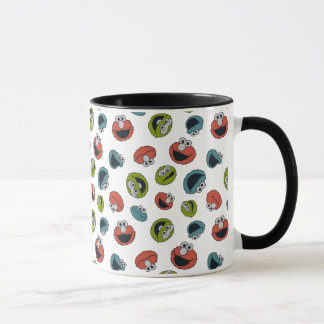 Sesame Street | All Star Team Pattern Mug