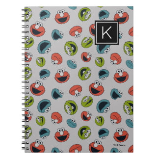 Sesame Street | All Star Team Pattern Spiral Notebook