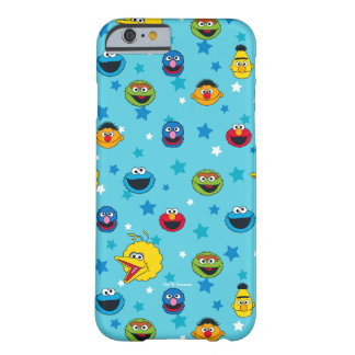 Sesame Street | Best Friends Star Pattern Barely There iPhone 6 Case