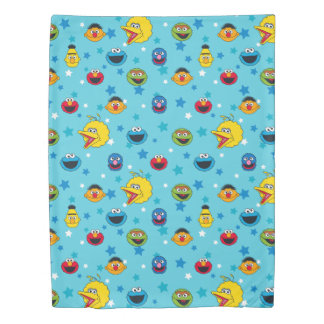 Sesame Street | Best Friends Star Pattern Duvet Cover
