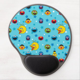 Sesame Street | Best Friends Star Pattern Gel Mouse Pad