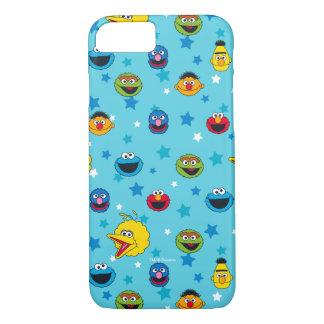 Sesame Street | Best Friends Star Pattern iPhone 7 Case