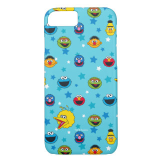Sesame Street | Best Friends Star Pattern iPhone 8/7 Case