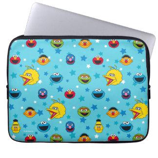 Sesame Street   Best Friends Star Pattern Laptop Sleeve