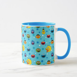 Sesame Street | Best Friends Star Pattern Mug