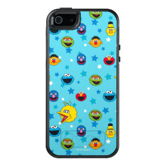 Sesame Street | Best Friends Star Pattern OtterBox iPhone 5/5s/SE Case