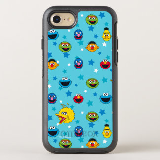 Sesame Street | Best Friends Star Pattern OtterBox Symmetry iPhone 8/7 Case