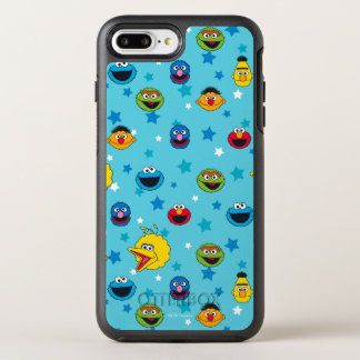 Sesame Street | Best Friends Star Pattern OtterBox Symmetry iPhone 8 Plus/7 Plus Case