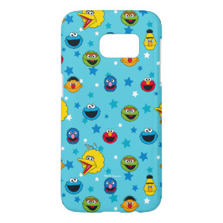 Sesame Street | Best Friends Star Pattern Samsung Galaxy S7 Case