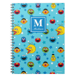 Sesame Street | Best Friends Star Pattern Spiral Notebook