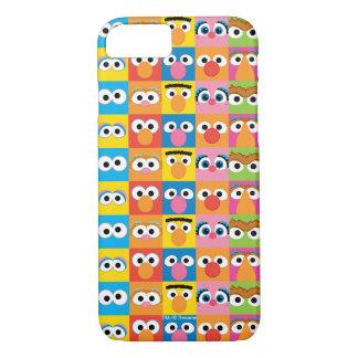 Sesame Street Character Eyes Pattern iPhone 7 Case