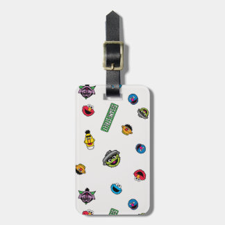 Sesame Street Character Pattern Bag Tag