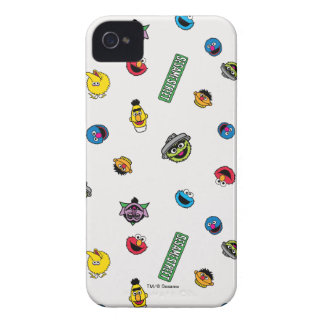 Sesame Street Character Pattern Case-Mate iPhone 4 Cases