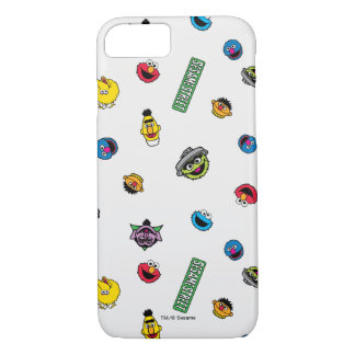 Sesame Street Character Pattern iPhone 7 Case