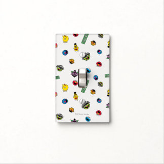 Sesame Street Character Pattern Light Switch Cover