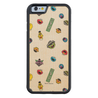 Sesame Street Character Pattern Maple iPhone 6 Bumper